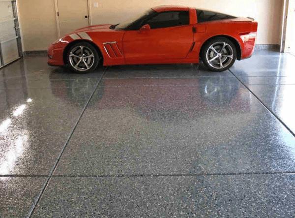 Residential Garage Floor