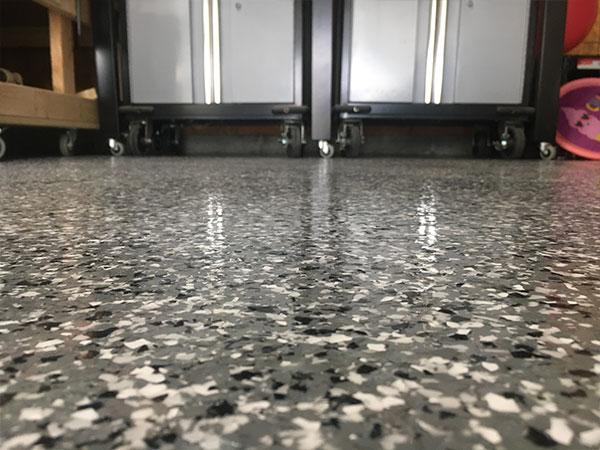 epoxy floor look of industrial floor coatings