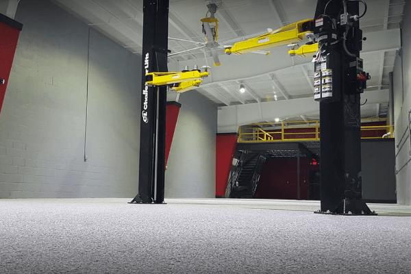 garage floor paint vs. epoxy floor