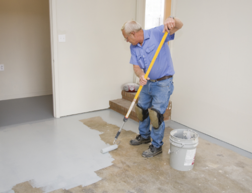 How to Paint a Concrete Basement Floor With Epoxy