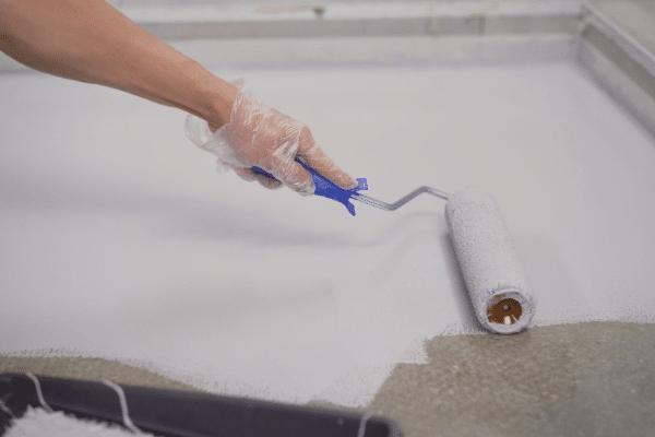 Paint a Concrete Basement Floor