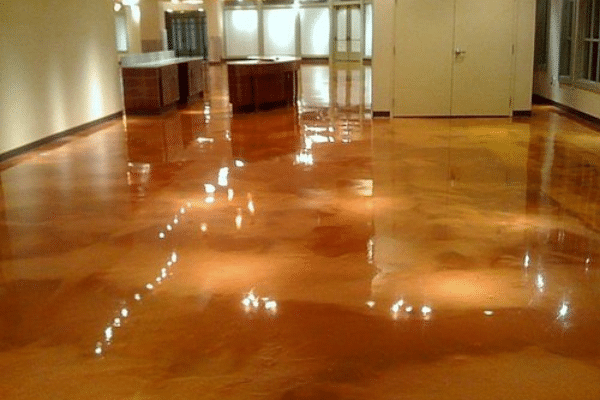 How to Fix Scratches on Stained Concrete Floors